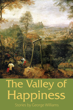 Valley of Happiness literary speculative fiction collection cover art
