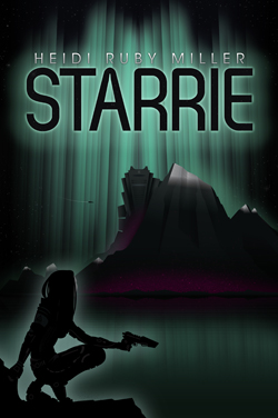 Starrie science fiction adventure novel cover art