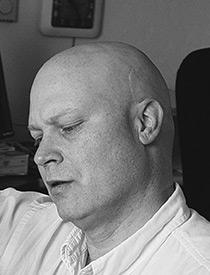 Alan M. Clark bizarro horror artist author