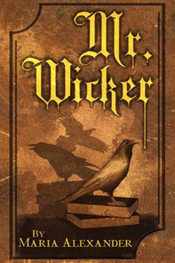 Mr. Wicker horror novel cover art