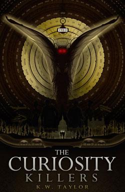 Curiosity Killers time travel novel cover art